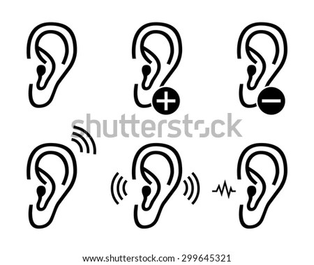 Body Part Icons Stock Photos, Images, & Pictures