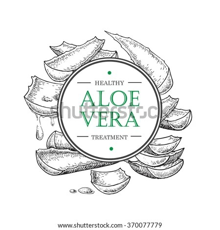 Aloe Vera Label Stock Images, Royalty-Free Images