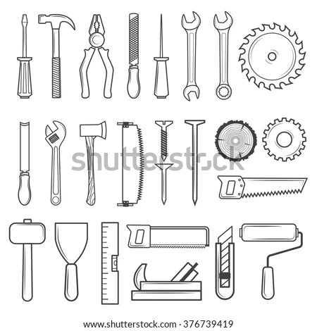 Woodworking Tools Stock Images, Royalty-Free Images