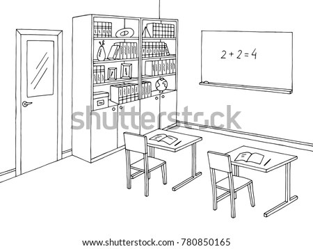 Classroom Sketch Stock Images, Royalty-Free Images