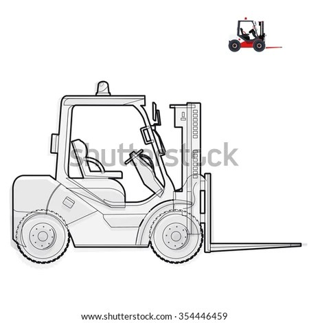 Lifting Equipment Stock Illustrations & Cartoons