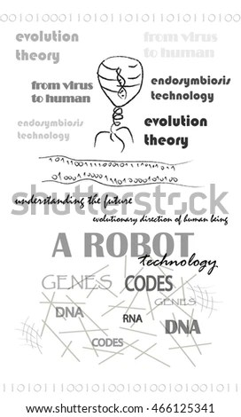 Theory Of Evolution Stock Images, Royalty-Free Images