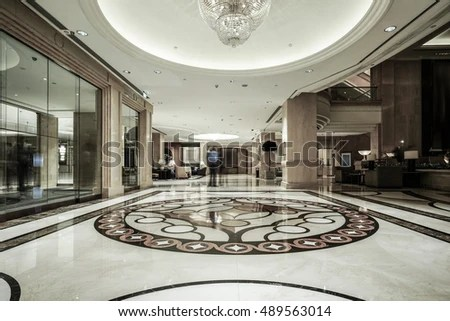 steel chair for hotel bariatric shower with arms and back luxury lobby interiorwith crystal lampbing hall stock photo 489563014 - shutterstock