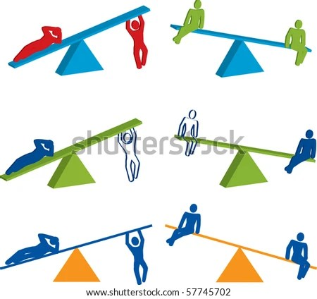Seesaw Stock Images RoyaltyFree Images Vectors