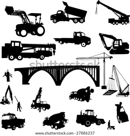 Construction Site: Construction Site Vector
