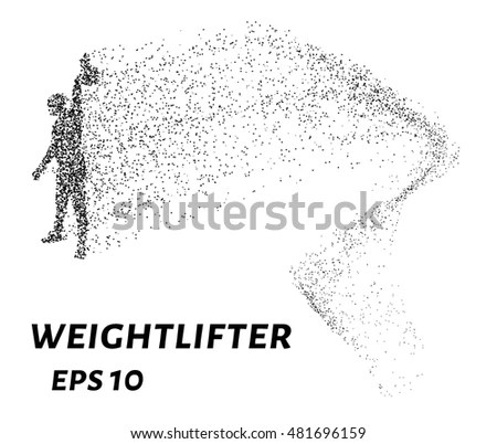 Weightlifter Particle Divergent Composition Vector
