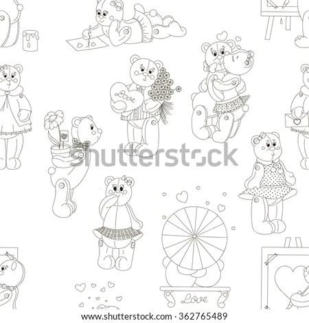 Spotless Series Hand Drawn Circus Icon Stock Vector