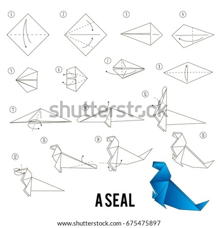 Step By Step Instructions How Make Stock Vector (Royalty