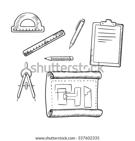 Sketch Engineer Stock Images, Royalty-Free Images
