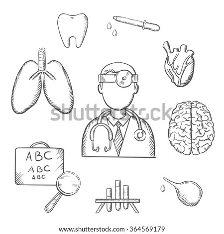 Brain Sketch Stock Images, Royalty-Free Images & Vectors