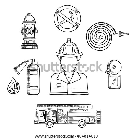 Firefighter Stock Photos, Royalty-Free Images & Vectors