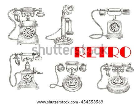 Vintage Telephone Wiring Diagrams Rotary Phone Parts