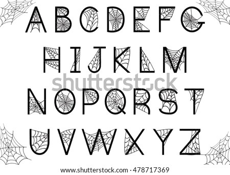Creepy Font Stock Images, Royalty-Free Images & Vectors