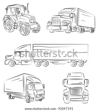 Utility Trailer Stock Images, Royalty-Free Images