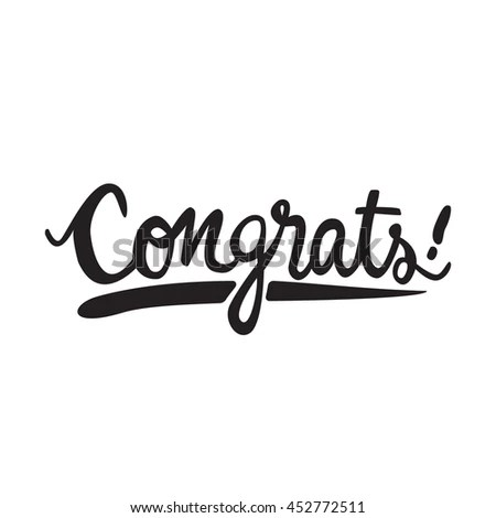 Congrats Stock Photos, Royalty-Free Images & Vectors