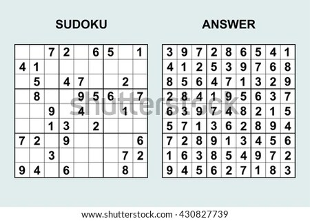 Sudoku Stock Images Royalty Free Images Amp Vectors