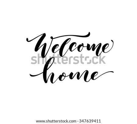 Welcome Home Stock Images, Royalty-Free Images & Vectors