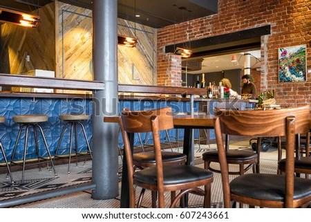 New Orleans Dec 25 2016 Restaurant Stock Photo 607243661