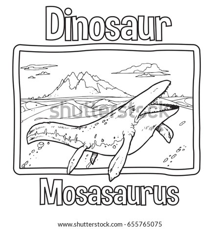 Dinosaur Sketch Stock Images, Royalty-Free Images