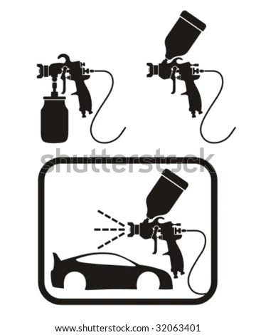 Spray Gun Stock Images, Royalty-Free Images & Vectors