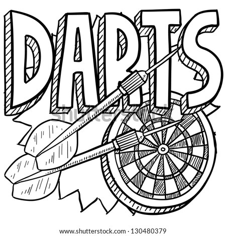 Darts Coloring Pages Coloring Pages