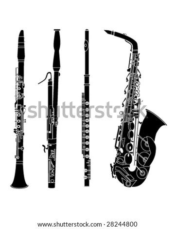 Woodwind Instruments Stock Images, Royalty-Free Images