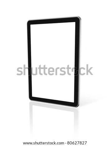 3d Computer Digital Tablet Pc Tv Stock Illustration