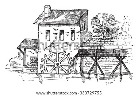 Water Mill Stock Images, Royalty-Free Images & Vectors