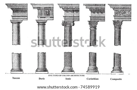 Doric Column Stock Images, Royalty-Free Images & Vectors