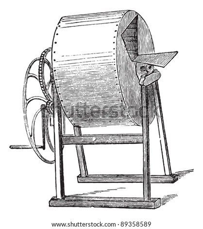 Vintage washing machine Stock Photos, Images, & Pictures