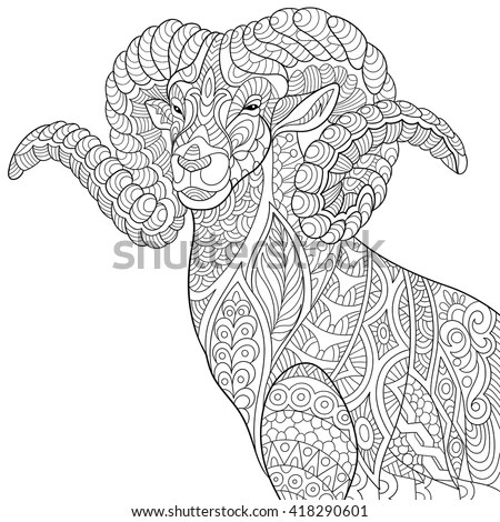Ram Tattoo Stock Images, Royalty-Free Images & Vectors
