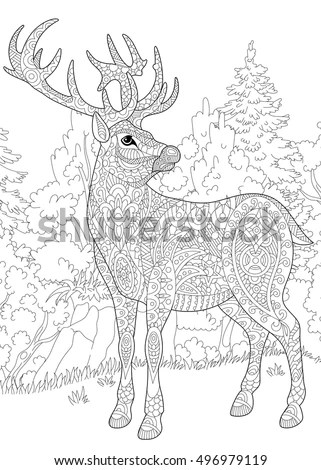 Adult Reindeer Stock Images, Royalty-Free Images & Vectors