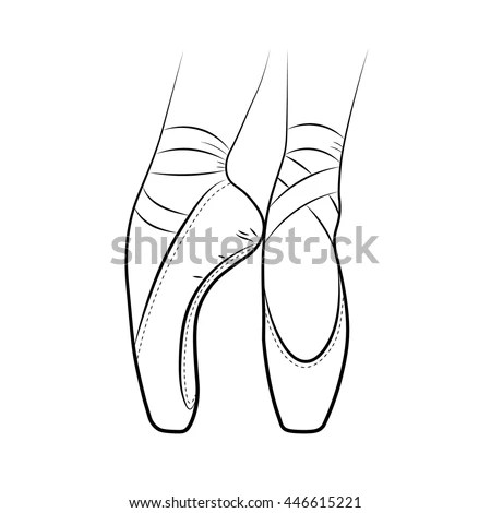 Ballet Shoes Stock Images, Royalty-Free Images & Vectors
