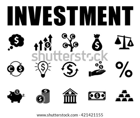 Investment Icon Stock Images, Royalty-Free Images