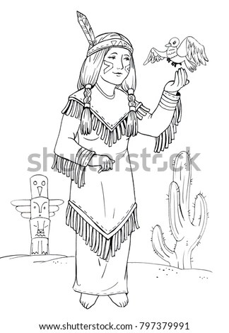 American Indian Princess Stock Images, Royalty-Free Images