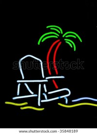 Palm tree lined beaches Stock Photos, Images, & Pictures ...