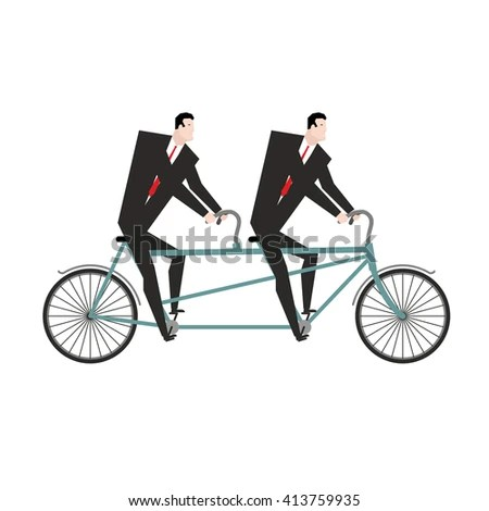 Cartoon Happy Girl Riding Bicycle Vector Stock Vector