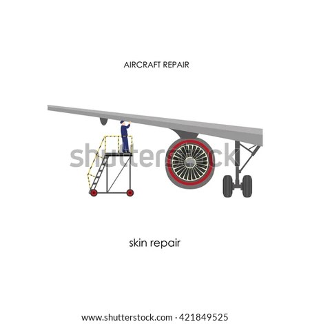 Aircraft Maintenance Stock Images, Royalty-Free Images
