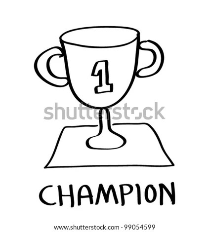 World Champion Red Stamp Text On Stock Vector 326330708