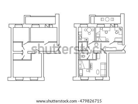 Floor Plan Key Symbols Blueprint Key Symbols Wiring