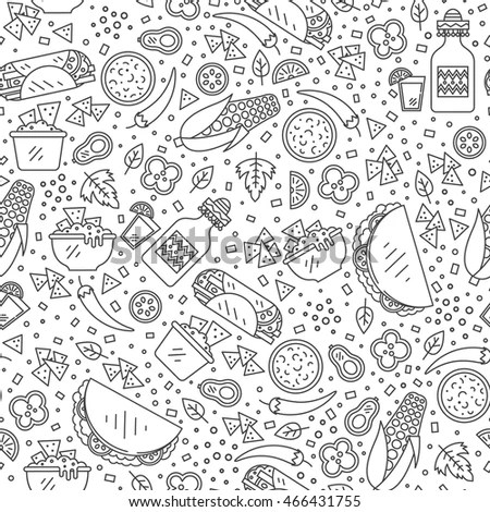 Set Doodles Hand Drawn Rough Simple Stock Vector 261703883