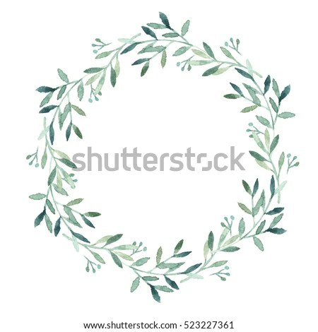 Watercolor Wreath Stock Images Royalty Free Images Amp Vectors Shutterstock