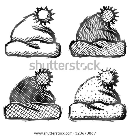 Pom-pom Hat Stock Images, Royalty-Free Images & Vectors