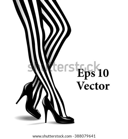 Black Stockings Stock Images, Royalty-Free Images