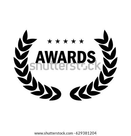 Film Award Best Film Form Logo Stock Vector 629381204