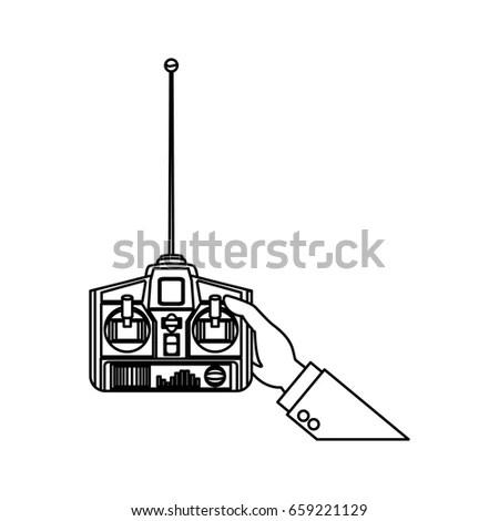 Side Gear Box Gear Shift Transmission Stock Vector