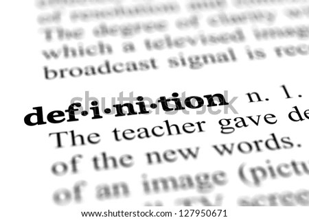 Definition Stock Images, Royalty-Free Images & Vectors