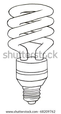 Cfl bulb Stock Photos, Cfl bulb Stock Photography, Cfl