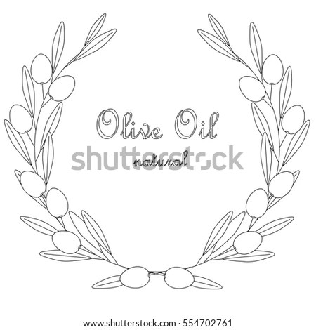 Olive Branch Vector Stock Images, Royalty-Free Images
