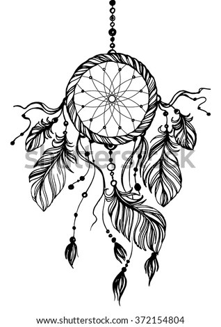 Dream Catcher Traditional Native American Indian Stock